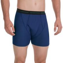 ExOfficio Boxer Briefs - Underwear (For Men) in Ocean - 2nds
