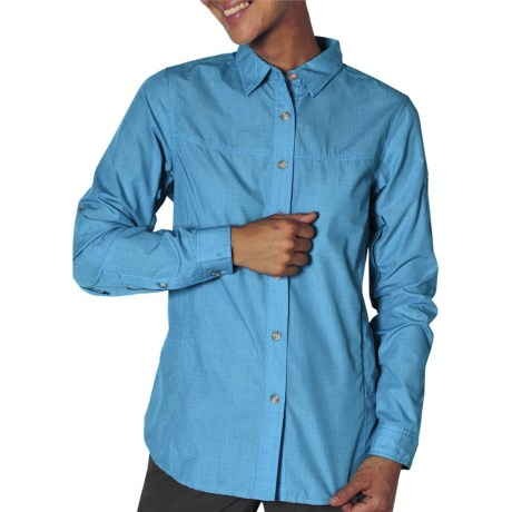 ExOfficio Bugaway Baja Shirt - Insect Shield®, UPF 30+, Long Sleeve (For Women) in Mediterranean