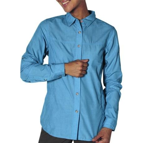 ExOfficio Bugaway Baja Shirt - Insect Shield®, UPF 30+, Long Sleeve (For Women) in Mediterranean