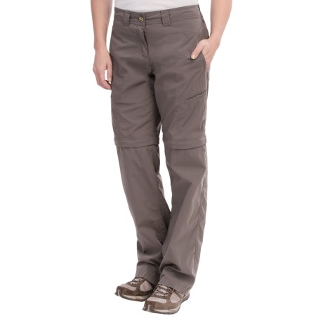 ExOfficio Bugaway Ziwa Nycott Pants - Convertible, Insect Shield® (For Women) in Slate