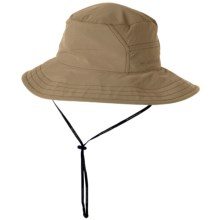ExOfficio BugsAway® Adventure Hat - UPF 30+ (For Men and Women) in Light Khaki/Brown - Closeouts
