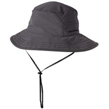ExOfficio BugsAway® Adventure Hat - UPF 30+ (For Men and Women) in Slate/Black - Closeouts