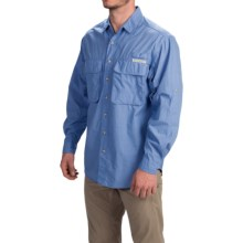 ExOfficio BugsAway® Baja Shirt - UPF 30+, Long Sleeve (For Men) in Cayman - Closeouts