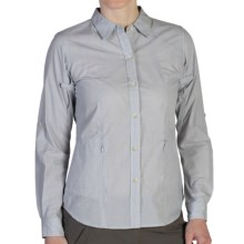 ExOfficio BugsAway® Baja Shirt - UPF 30+, Long Sleeve (For Women) in Oyster - Closeouts