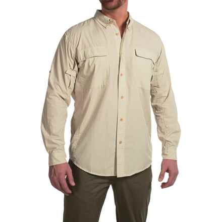 ExOfficio BugsAway® Baja Sur Shirt - UPF 30, Long Sleeve (For Men) in Bone - Closeouts