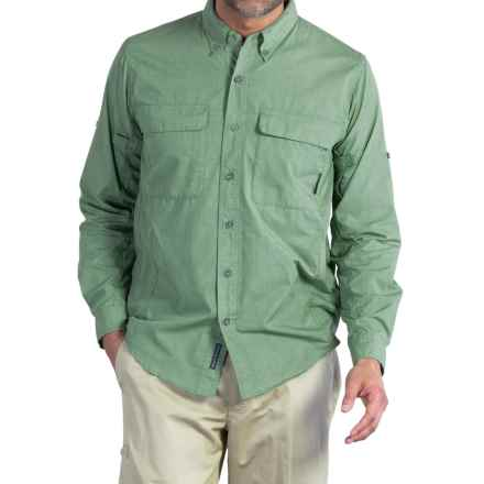 ExOfficio BugsAway® Baja Sur Shirt - UPF 30, Long Sleeve (For Men) in Hops - Closeouts