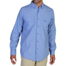 ExOfficio Bugsaway® Baja Sur Shirt - UPF 30+, Long Sleeve (For Men) in Cayman - Closeouts