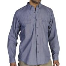 ExOfficio Bugsaway® Baja Sur Shirt - UPF 30+, Long Sleeve (For Men) in Gravity - Closeouts