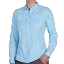 ExOfficio BugsAway® Breez'r Shirt - UPF 30+, Long Sleeve (For Women) in Atmosphere - Closeouts