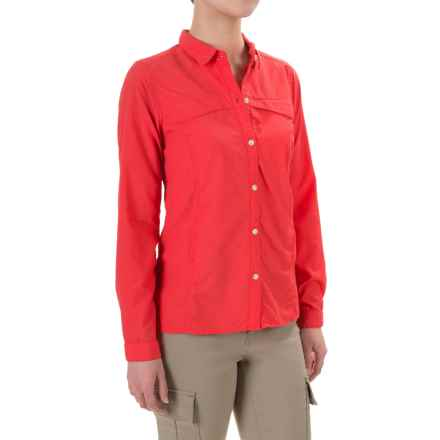 ExOfficio BugsAway® Breez'r Shirt - UPF 30+, Long Sleeve (For Women) in Grenadine - Closeouts