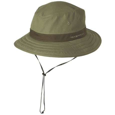 ExOfficio Bugsaway Canvas Brim Hat - UPF 30+ (For Men and Women)
