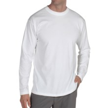 ExOfficio BugsAway® Chas'r Crew Shirt - Long Sleeve (For Men) in White - Closeouts