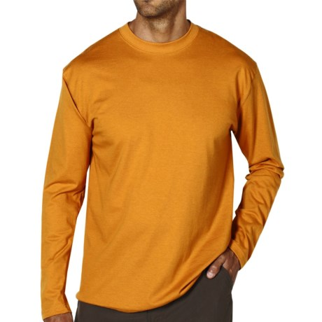 ExOfficio BugsAway® Chas'r Crew Shirt - Long Sleeve (For Men) in Yam