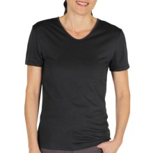 ExOfficio BugsAway® Chas'r T-Shirt - UPF 30+, Short Sleeve (For Women) in Black - Closeouts