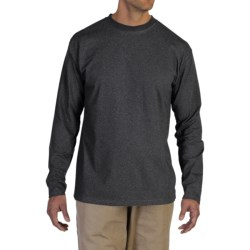 ExOfficio BugsAway® Chas'r Crew Shirt - Long Sleeve (For Men) in Charcoal Heather