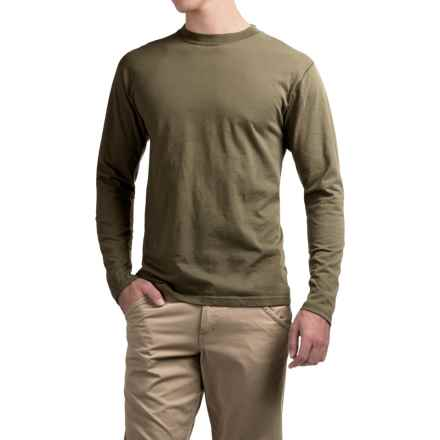 ExOfficio BugsAway® Chas'r Crew Shirt - Long Sleeve (For Men) in Military Green - Closeouts
