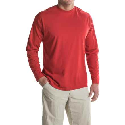ExOfficio BugsAway® Chas'r Crew Shirt - Long Sleeve (For Men) in Red - Closeouts