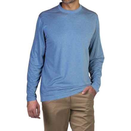 ExOfficio BugsAway® Chas'r Crew Shirt - Long Sleeve (For Men) in Sky - Closeouts
