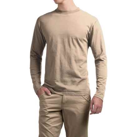 ExOfficio BugsAway® Chas'r Crew Shirt - Long Sleeve (For Men) in Wet Sand - Closeouts