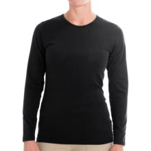 ExOfficio BugsAway® Chasr Shirt - Long Sleeve (For Women) in Black - Closeouts