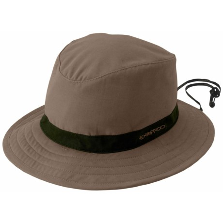 ExOfficio BugsAway® Cotton Sun Bucket Hat - UPF 30+, Insect Shield® (For Men and Women) in Light Khaki