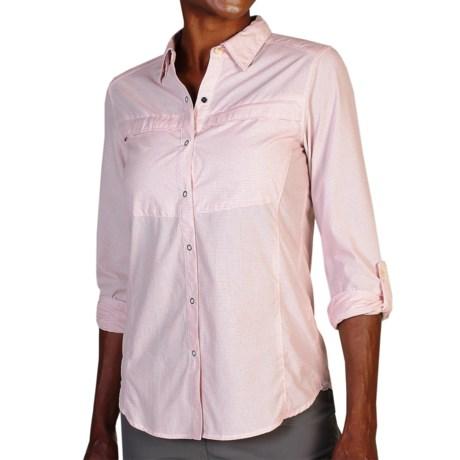 ExOfficio BugsAway Halo Check Shirt - UPF 30+, Long Sleeve