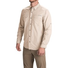 ExOfficio BugsAway® Halo Shirt - UPF 30+, Long Sleeve (For Men) in Bone - Closeouts
