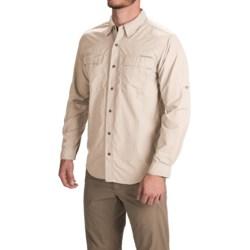 ExOfficio BugsAway® Halo Shirt - UPF 30+, Long Sleeve (For Men) in Bone