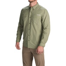 ExOfficio BugsAway® Halo Shirt - UPF 30+, Long Sleeve (For Men) in Dusty Olive - Closeouts