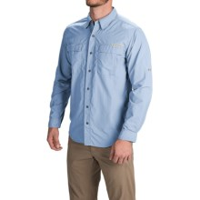 ExOfficio BugsAway® Halo Shirt - UPF 30+, Long Sleeve (For Men) in Light Lapis - Closeouts