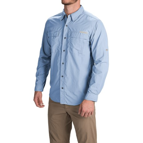 ExOfficio BugsAway(R) Halo Shirt UPF 30+, Long Sleeve (For Men)