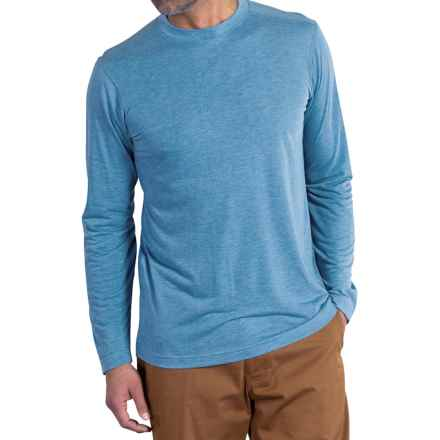 ExOfficio Bugsaway® Impervio T-Shirt - Long Sleeve (For Men) in Riviera - Closeouts