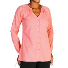 ExOfficio BugsAway® Kutula Tunic Shirt - Long Sleeve (For Women) in Nectar - Closeouts