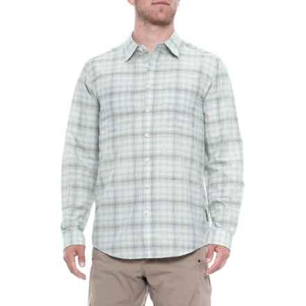 ExOfficio BugsAway® Poros Shirt - Long Sleeve (For Men) in Dusty Sage - Closeouts