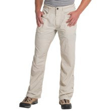 ExOfficio BugsAway® Sandfly Convertible Pants - UPF 30+ (For Men) in Bone - Closeouts