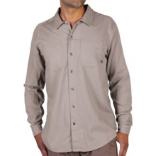 ExOfficio BugsAway® Talisman Shirt - Long Sleeve (For Men) in Cement - Closeouts
