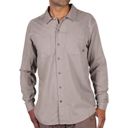 ExOfficio BugsAway® Talisman Shirt - Long Sleeve (For Men) in Cement - Closeouts