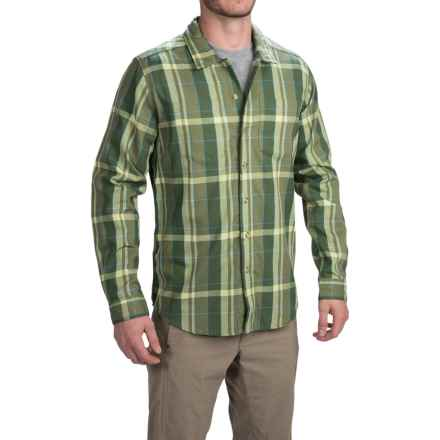 ExOfficio BugsAway® Talisman Shirt - Long Sleeve (For Men) in Olive - Closeouts
