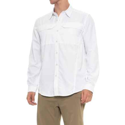 ExOfficio BugsAway® Viento Shirt - UPF 30, Long Sleeve (For Men) in White - Closeouts