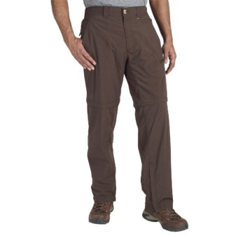 ExOfficio BugsAway® Ziwa Convertible Pants - UPF 30+ (For Men) in Breen
