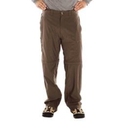 ExOfficio BugsAway® Ziwa Convertible Pants - UPF 30+ (For Men) in Cigar