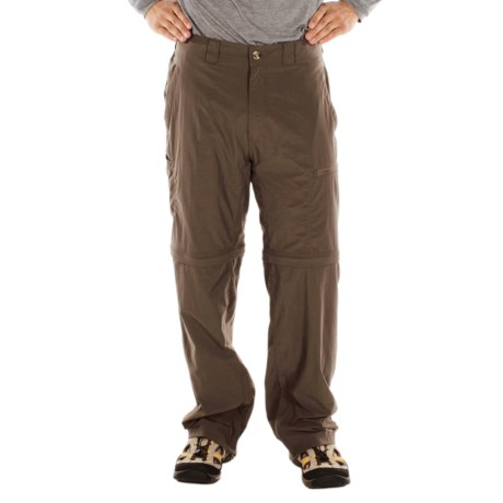 ExOfficio BugsAway® Ziwa Convertible Pants - UPF 30+ (For Men) in Cigar