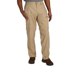 ExOfficio BugsAway® Ziwa Convertible Pants - UPF 30+ (For Men) in Light Khaki - Closeouts