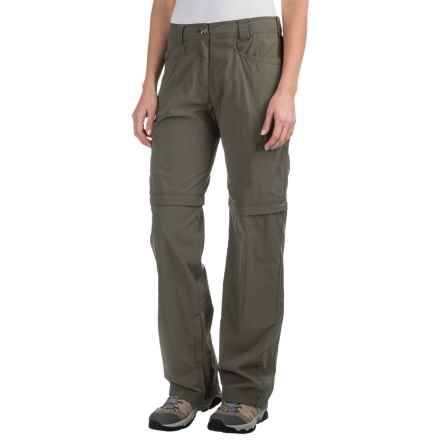 ExOfficio BugsAway® Ziwa Convertible Pants - UPF 30+ (For Women) in Bay Leaf - Closeouts