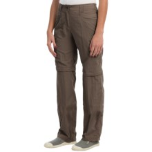 ExOfficio BugsAway® Ziwa Convertible Pants - UPF 30+ (For Women) in Cigar - Closeouts