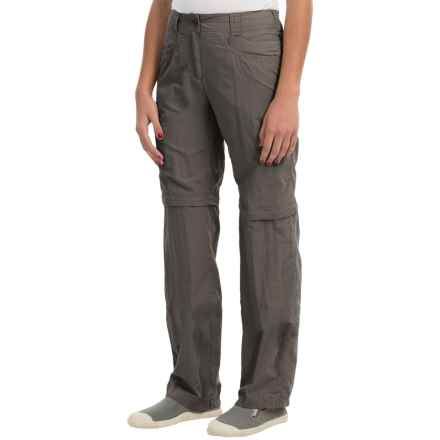 ExOfficio BugsAway® Ziwa Convertible Pants - UPF 30+ (For Women) in Slate - Closeouts