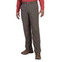 ExOfficio BugsAway® Ziwa Pants - UPF 30+ (For Men) in Cigar - Closeouts