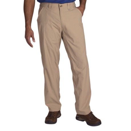 ExOfficio BugsAway® Ziwa Pants - UPF 30+ (For Men) in Light Khaki