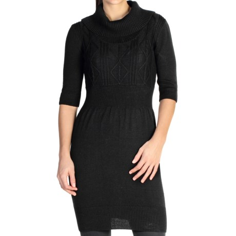 ExOfficio Cafenista Sweater Dress 3/4 Sleeve (For Women)