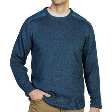 ExOfficio Cafenisto Crew Sweater (For Men) in Isle - Closeouts